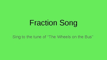 Fraction Song