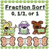 Fraction Sort 0, 1, or 1/2