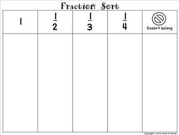 Fraction Sort