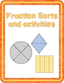 Fraction Sort and activities