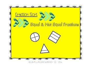Fraction Sort: Equal or Not Equal!