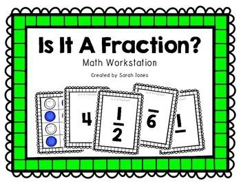 Fraction Sort Math Workstation