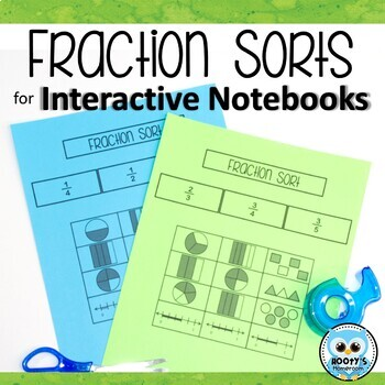 Fraction Sort for Interactive Notebooks