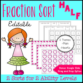 Fraction Sort: Thinking of Halves to Compare Fractions