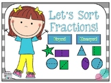 Fraction Sorting Activities