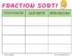 Fraction Sorting Activity: Making Math Visual