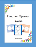 Fraction Spinner Game