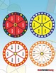 Fractions FREE: Fraction Spinners: Use with any Fraction Game or Activity!