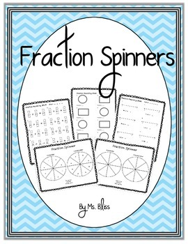 Fraction Spinners and Recording Sheets
