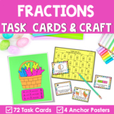 Fraction Task Cards | Craft | Spring Peeps