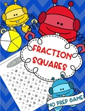 Fraction Squares Game
