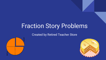 Fraction Story Problems