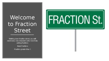 Fraction Street - Fractions Greater than 1