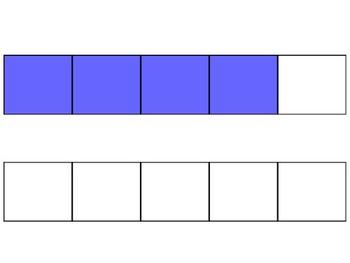 Fraction Strip Clipart