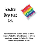 Fraction Strip Mat Set