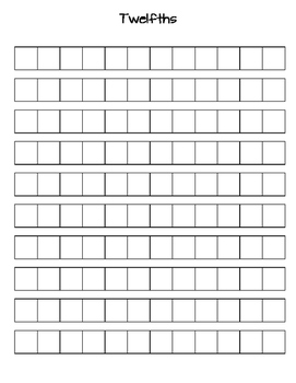 Fraction Strip Printables