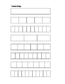 Fraction Strips