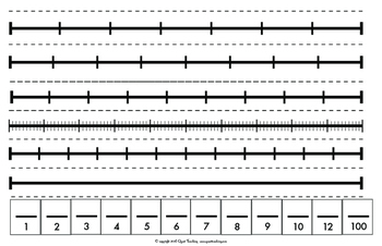 Fraction Strips/ Number Lines & Decimals Discovery Pack