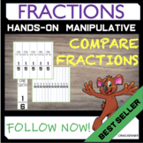 Fraction Strips - (Paper Size - A3)