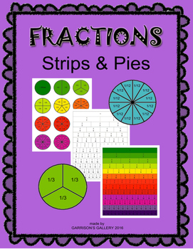 Fraction Strips and Pies Kit
