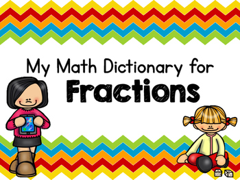 Fraction Student Dictionary