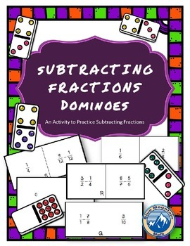 Fraction Subtraction Dominoes