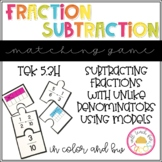 Fraction Subtraction Puzzles 5.3H