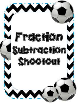 Fraction Subtraction Soccer