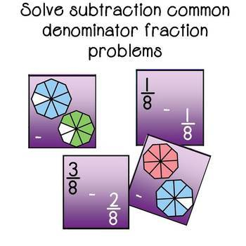 Fraction Subtraction Top It Game