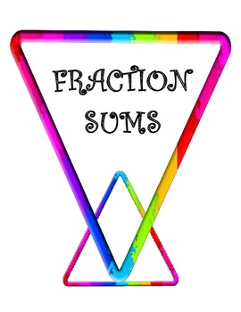 Fraction Sums