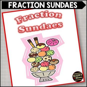 Fraction Sundaes