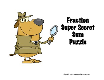 Fraction Super Secret Number Game