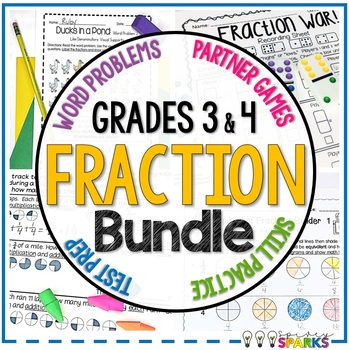 Fractions Differentiated Unit {21 Activities}