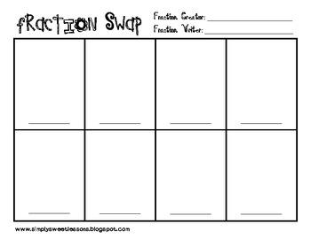 Fraction Swap