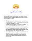 Fraction Talk: Lego Images