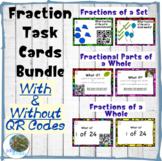 QR Fraction Task Card Bundle