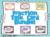 Fraction Task Card Bundle {Upper Grades}