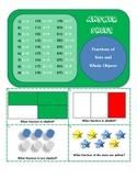 Fraction Task Card Game