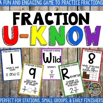 Fractions Game Bundle