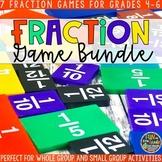 Fractions Game Math Bundle