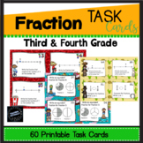 Fraction Task Cards (3rd grade)