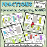 Fractions Centers (printable and google slides)