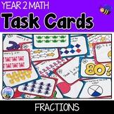 Fraction Task Cards Australian Curriculum Year 2