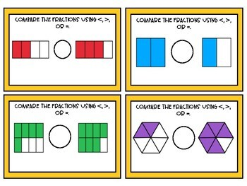 Fraction Task Cards Bundle