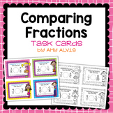 Fraction Task Cards Comparing Fractions SCOOT