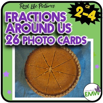 Fractions Picture Cards