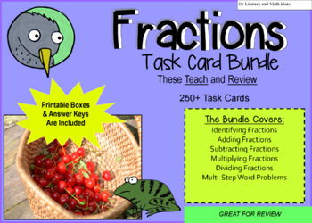 Fraction Task Cards Mega Pack