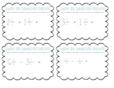 Fraction Task Cards Set 2