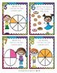 Fraction Task Cards for 2nd Grade