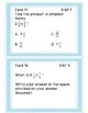 Fraction Task Cards for 5th grade